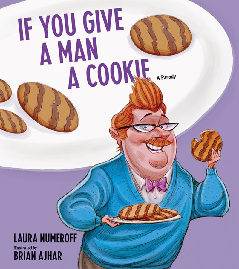 1 new york times bestselling author laura numeroff author of the hugely popular childrens book if you give a mouse a cookie offers this hilarious parody