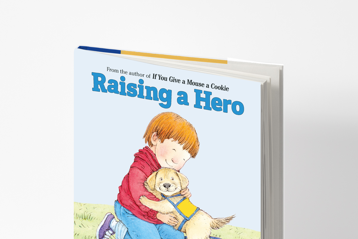 Raising a Hero Cover with Dust Jacket (New Edition)